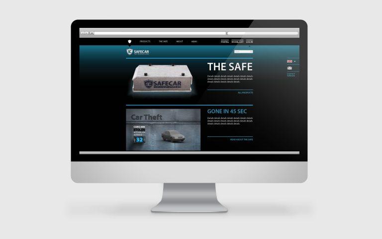 עיצוב אתר עבור סייפקאר