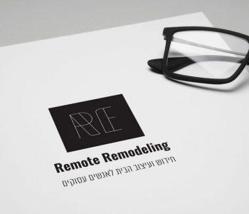 Remote Remodeling | לוגו ודף נחיתה